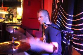 Drummer von Alien Fight Club