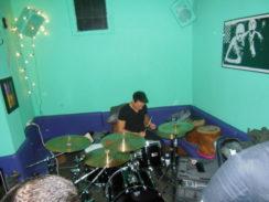 Leider kein gutes Bild vom Schlagzeuger
