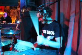 Gibt trotz Geburtstag richtig Gas: der Drummer