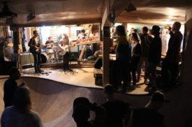 Die Band und das Publikum