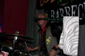 Nicht den Schlagzeuger vergessen