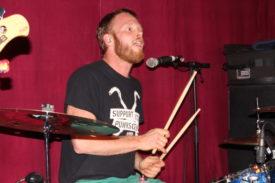 Der Schlagzeuger kommt zu seinem Recht
