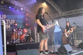Diw Band Quick Dip beim Auftritt im Deutschhof Heilbronn am 04.09.2021