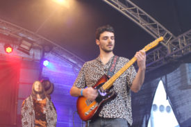 Gitarrist Nico von Neighbouurhood Creeps